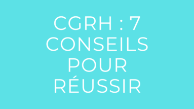 épreuve de CGRH