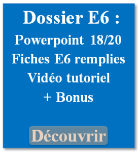 dossier powerpoint e6