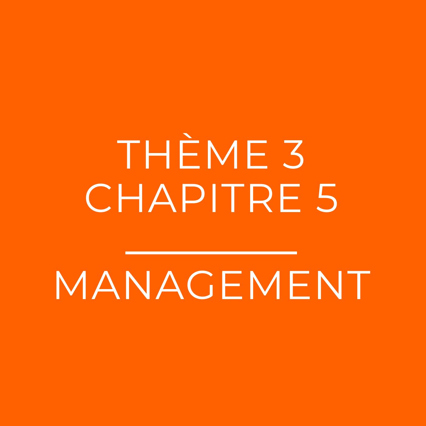 Les différents niveaux de management