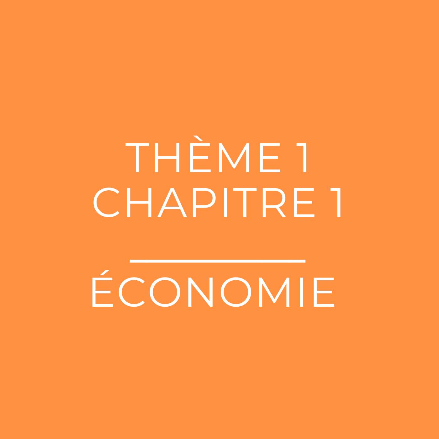Les agents économiques et leur rôle