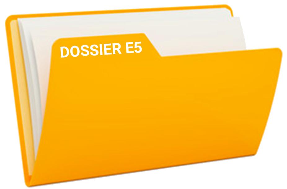dossier E5 bts sam