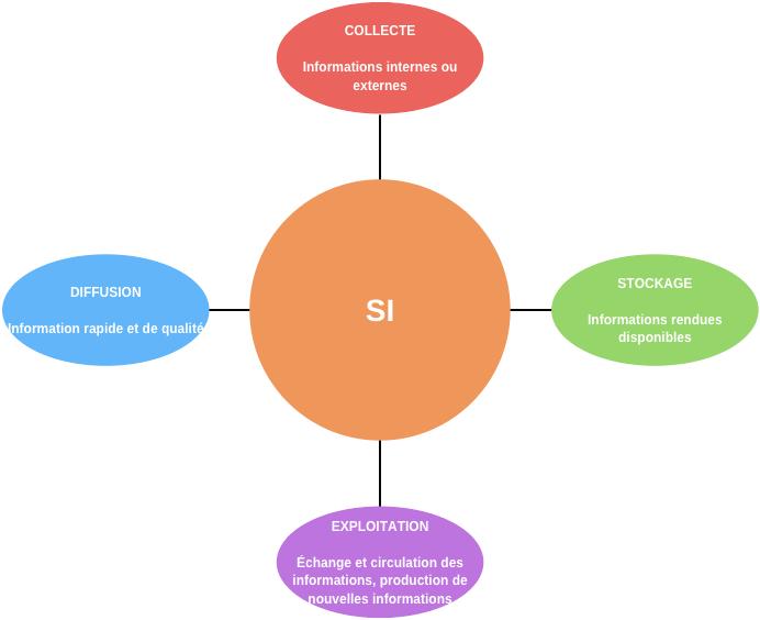Le système d'information et les réseaux SI