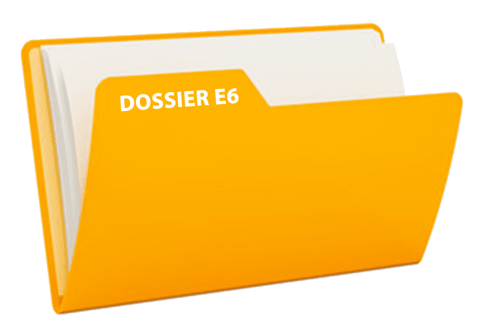 dossier E6 projet bts communication